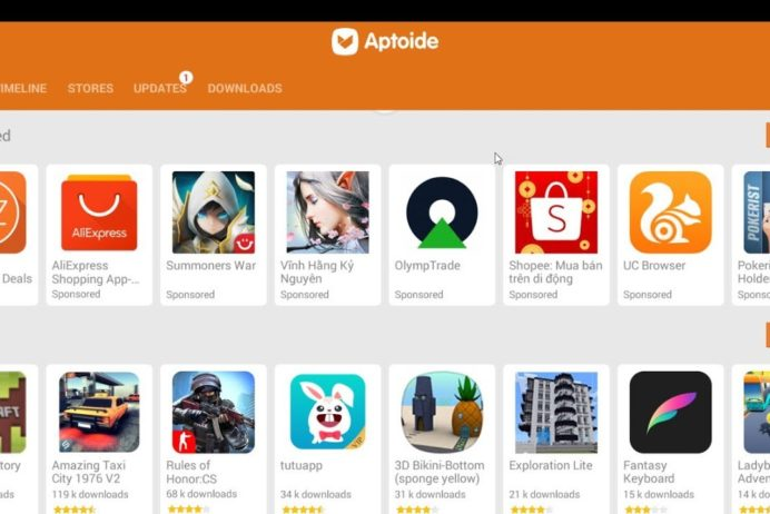 Aptoide: Download And Install For Android And Windows
