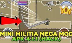 Download Mini Militia Mega Mod Apk, Hacks And Cheats Latest Version