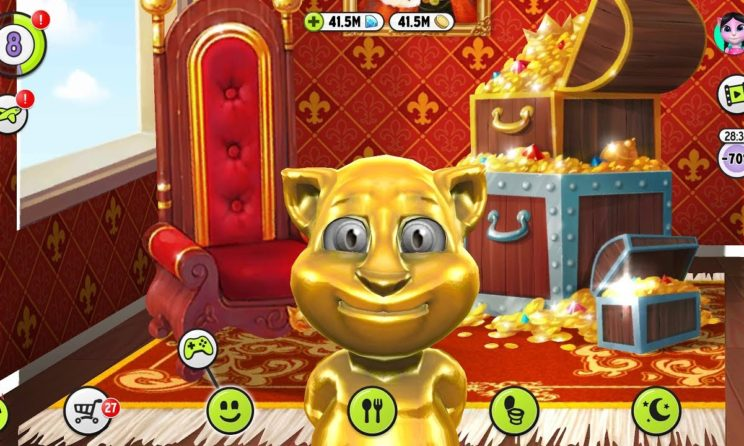 my talking tom apk mod hack