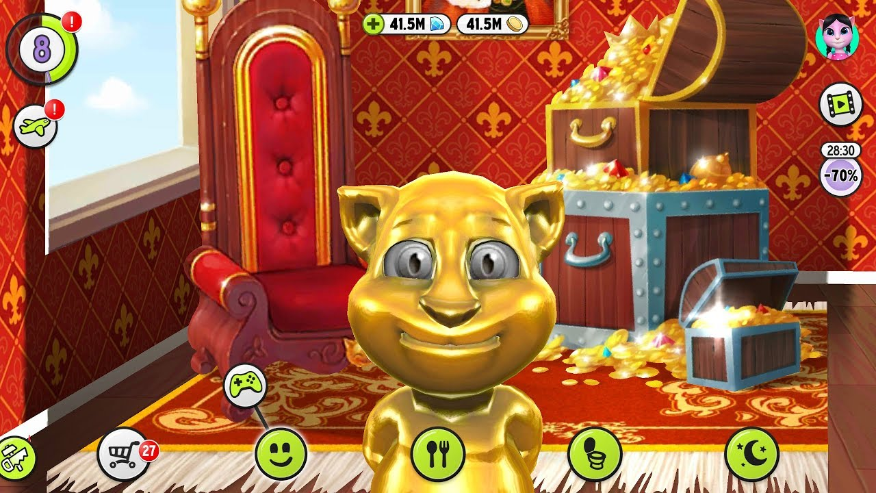 Download My Talking Tom Mod APK And Get Unlimited Coins