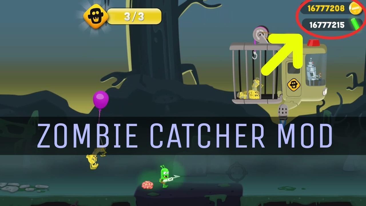 Download Zombie Catchers Mod Apk: Get Unlimited Money And Gadgets