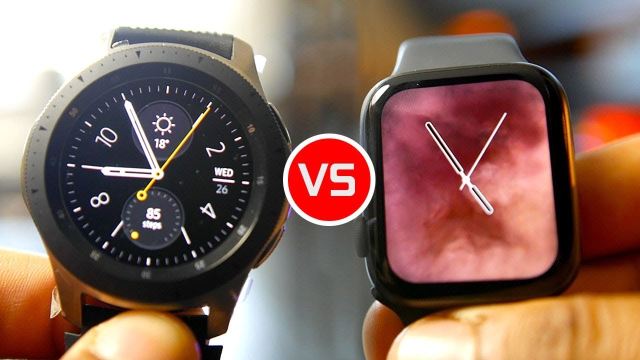 Galaxy Watch vs Apple Watch Series 4: Which Is Smarter?
