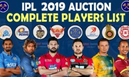 IPL 2019; Complete Auction List; Live Update Full List Of Sold & Unsold Players