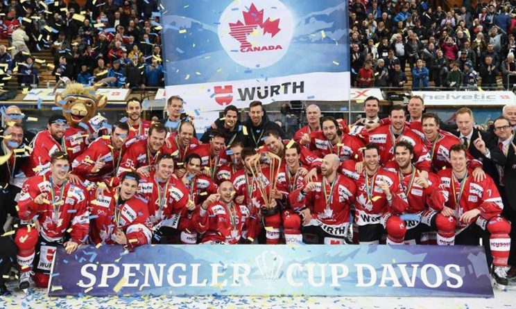 Spengler Cup 2018 Tournament: Team Canada Gave Names of 25-Players