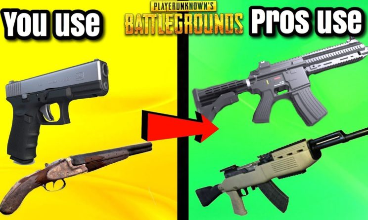Top 6 Best Pubg Guns Which Will Help You To Get A Chicken Dinner