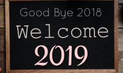 Goodbye 2018 And Welcome 2019