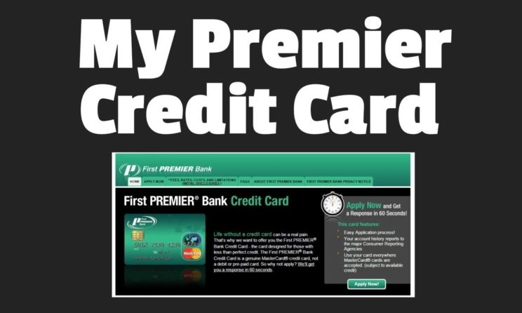 First Premier Credit Card: Everything You Need To Know Right Now