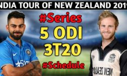 India vs New Zealand 2019: Complete Squad, Match Timing, And Schedule