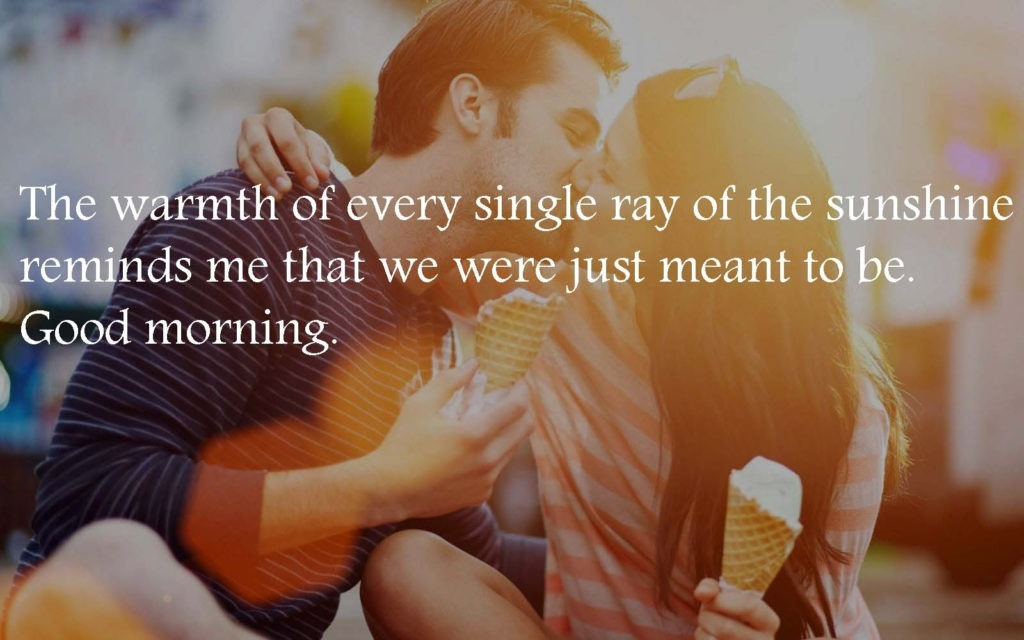romantic good morning wishes quotes message & images download