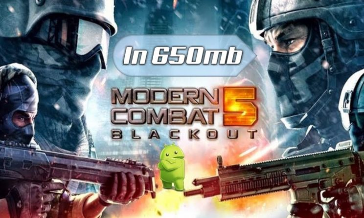 Download And Install Modern Combat 5 eSports FPS APK 2019