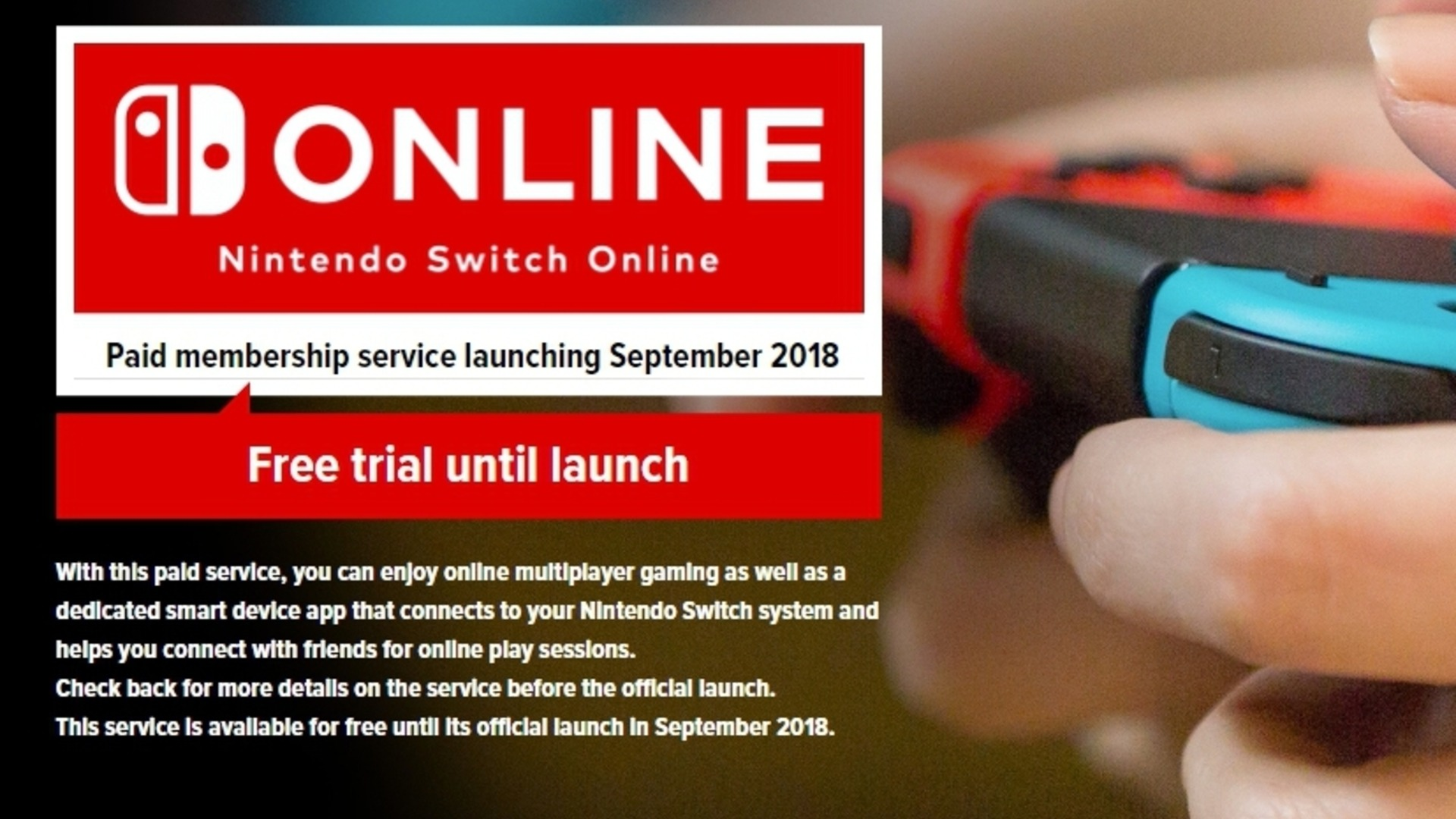 Nintendo Switch Online: Here Is Everything You Need To know Today!