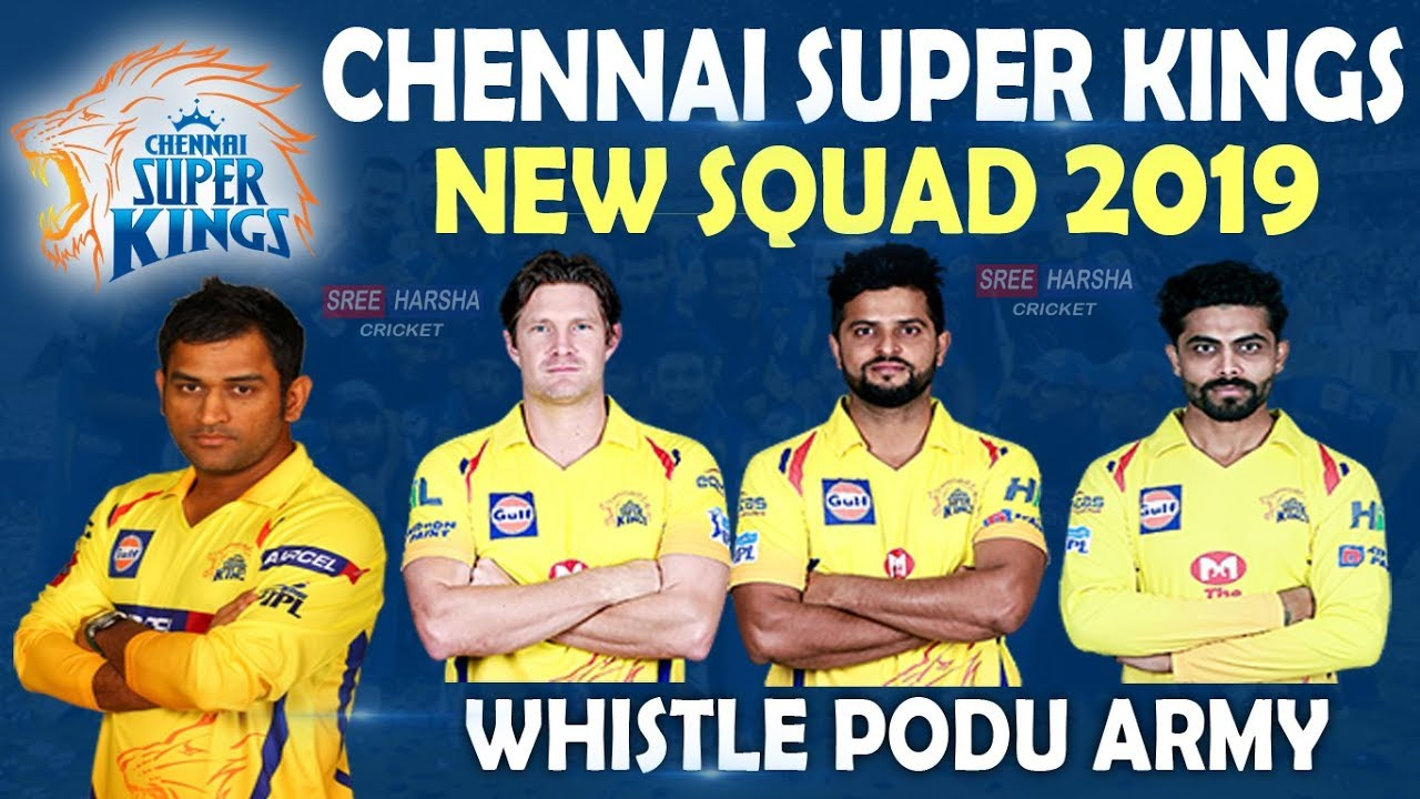 Chennai Super Kings Team IPL 2019; Here's Everything You Need To Know About The Team