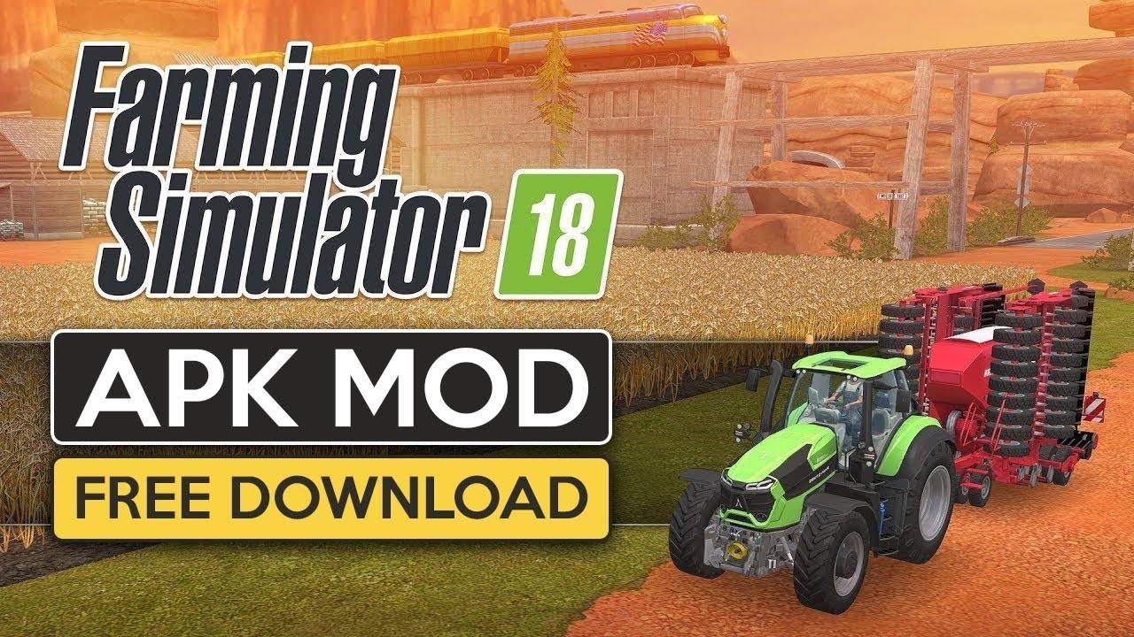Download Farming Stimulator 18 Mod Apk For Free Latest Version!