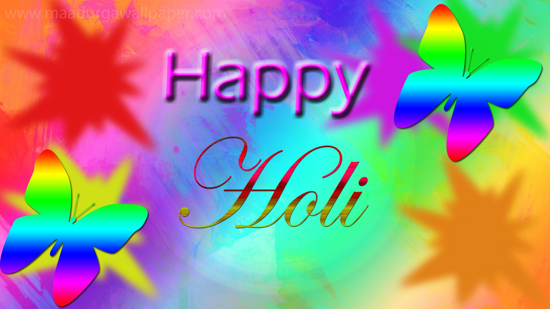 Happy Holi Images Greetings HD Wallpapers 2019