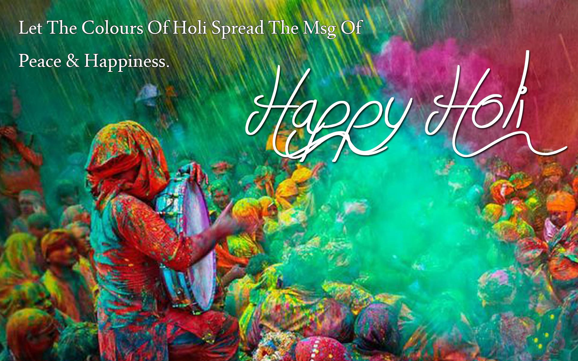 Happy Holi Images Greetings & Wallpaper