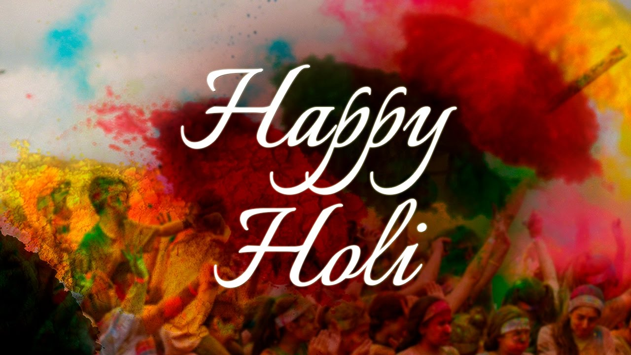 Happy Holi Images Greetings & Wallpapers