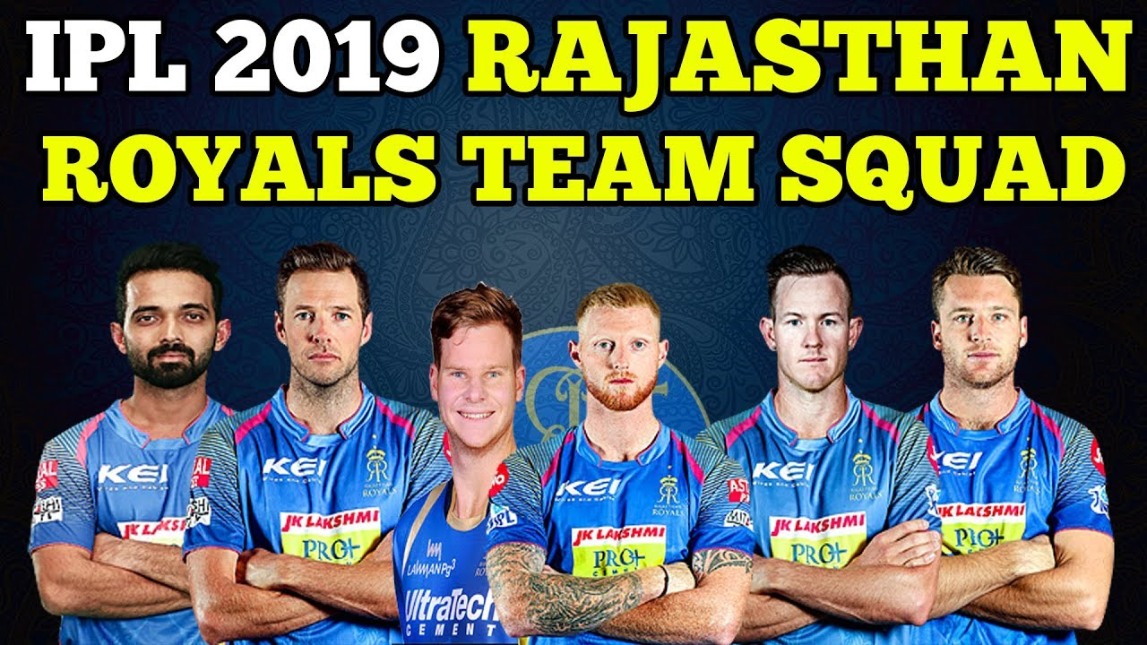 Rajasthan Royals Team IPL 2019; Here's Everything You Need To Know About The Team