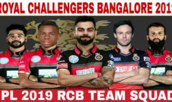 Royal Challengers Bangalore Team IPL 2019; Here's Everything You Need To Know About The Team