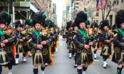 St. Patrick Festival 2019 : Festival Parade 14th -18th March. Dublin, Ireland