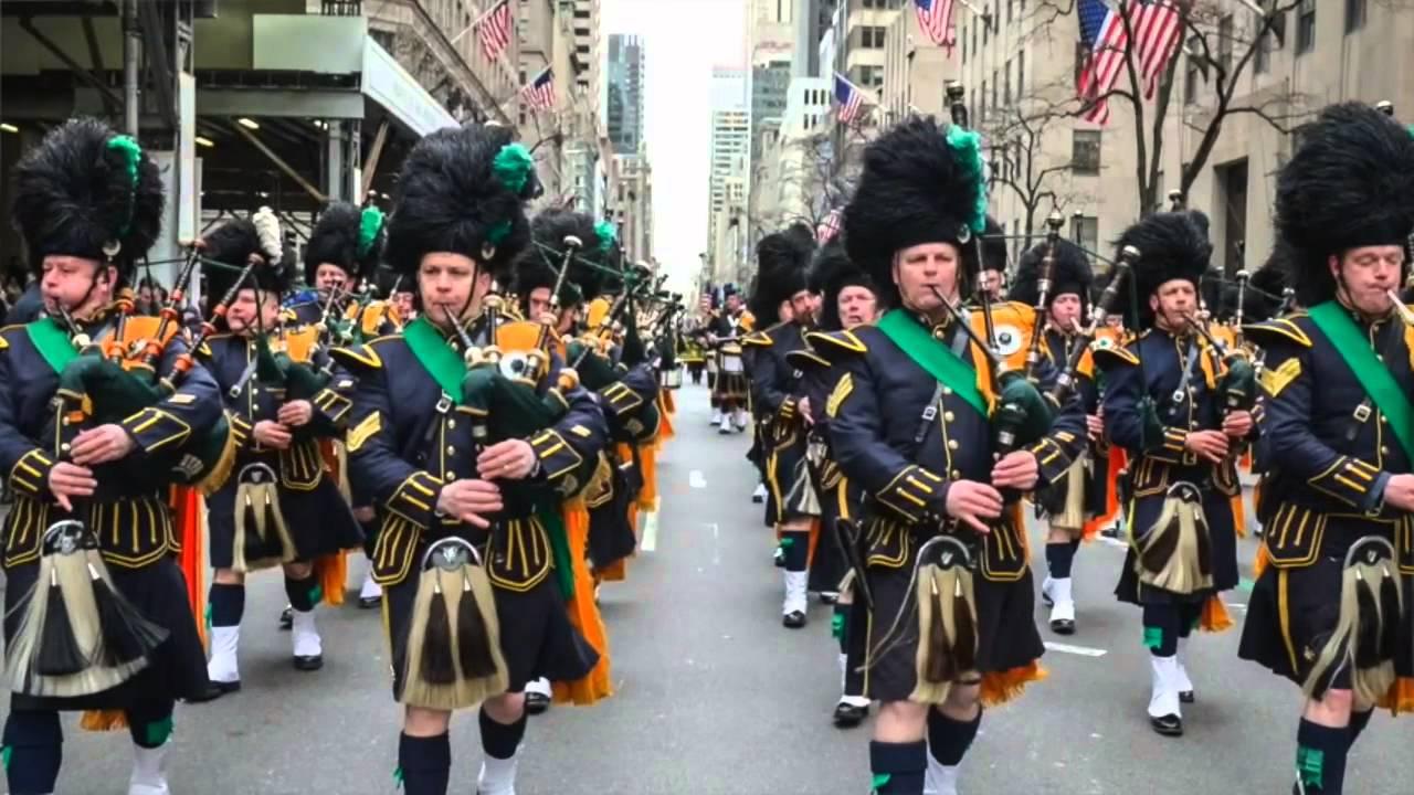 St. Patrick Festival 2019 : Festival Parade 14th -18th March. Dublin, Ireland