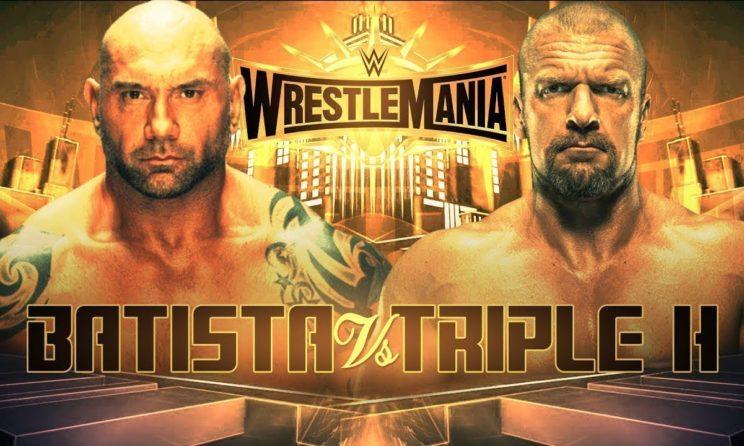 Wrestlemania 35: Batista Vs Triple H Prediction, Full Match & Winner Name