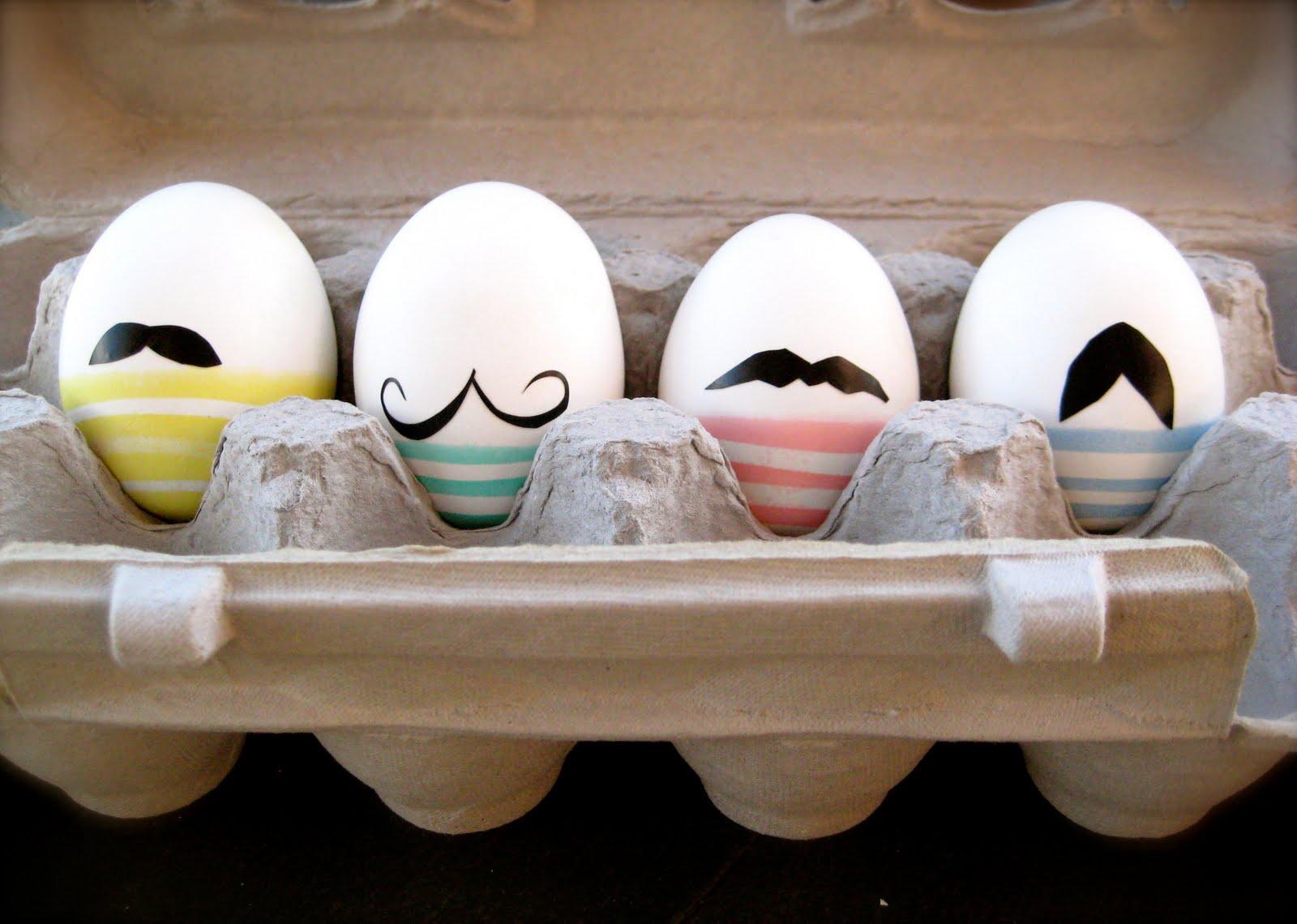 Moustache Easter Eggs 2019 Ideas