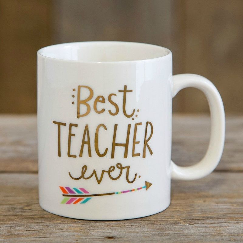 """Best Teacher"" Coffee Mug"