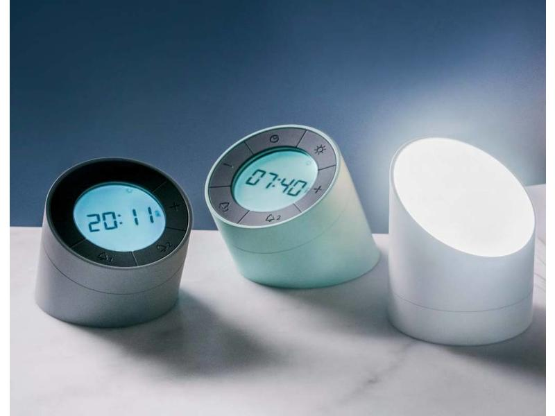 A light Alarm Clock