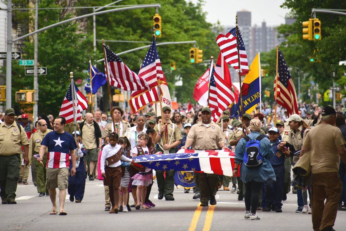 Brooklyn's 152nd Kings County Memorial Day Parade