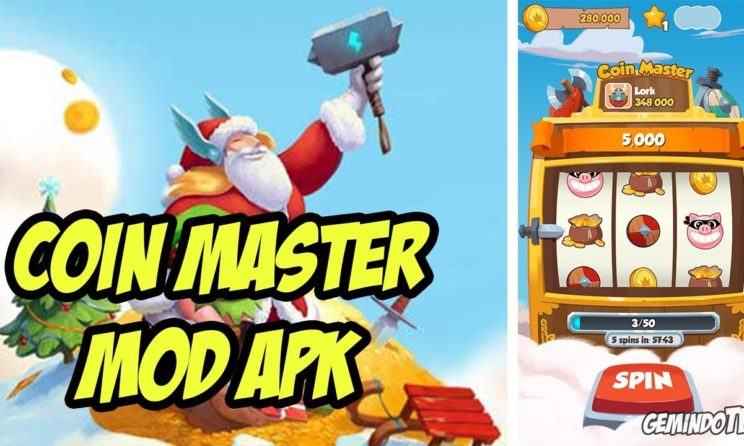 Download Coin Master Mod APK And Get Unlimited Spins