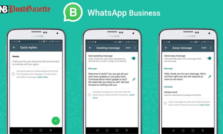 Download Whatsapp Business App And Reach Out Potential Customers!