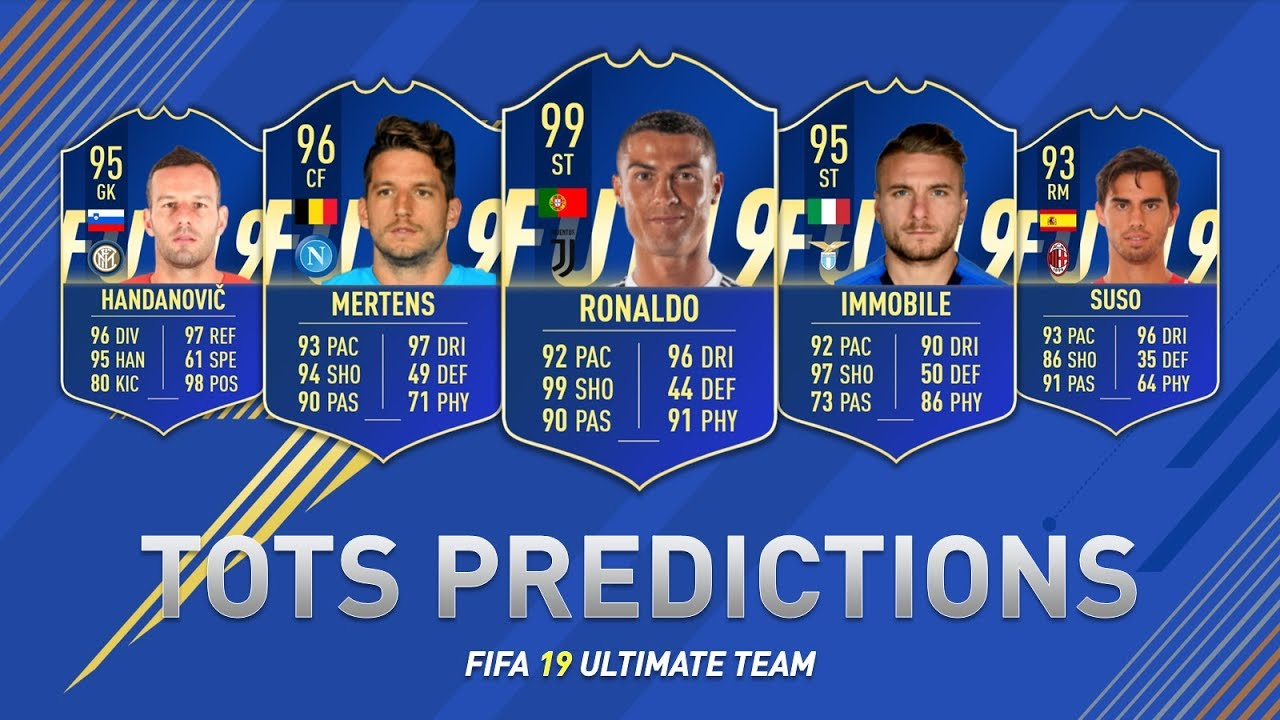 FIFA 19 TOTS Guide: The List Of Options Which Are An Investment Opportunity