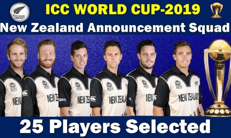 ICC Cricket World Cup 2019: New Zealand Full Squad, Schedule And Statistics