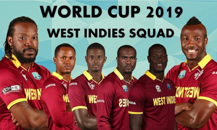ICC World Cup 2019 West Indies Squad, Fixtures, Statistics, Prediction