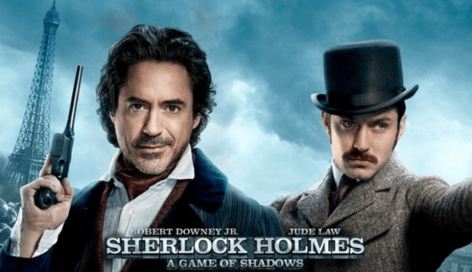 Sherlock Holmes 3 Poster