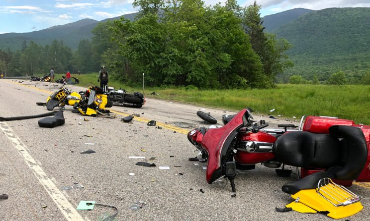 7 Dead, 3 Injured After Motorcycle And Pickup Truck Collides In New Hampshire