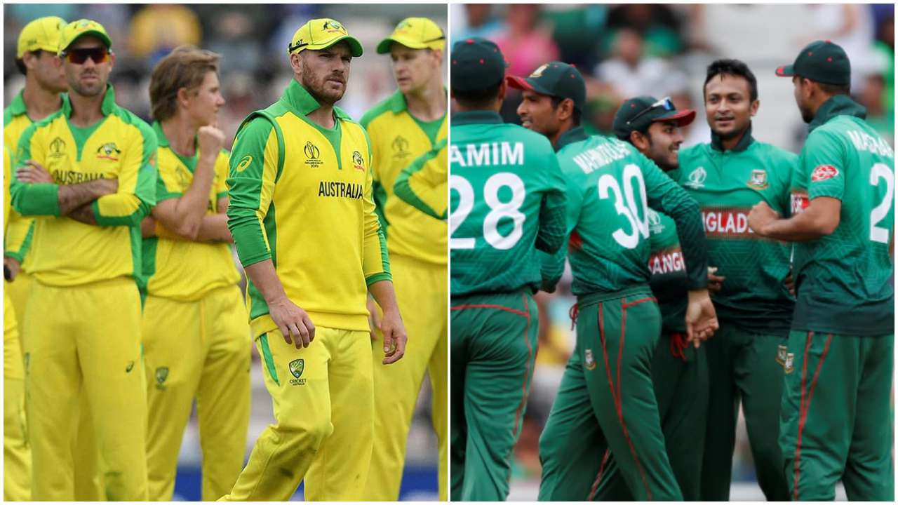 Australia vs Bangladesh World Cup 2019 Match 26, Live Streaming, Preview, Teams, Results