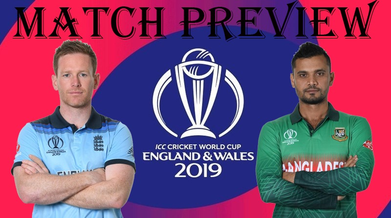 England vs Bangladesh, World Cup 2019: Match 12, Live Streaming, Preview, Teams, Results