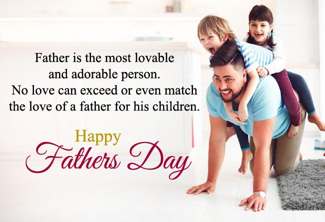 Happy Father's Day 2019 HD Cards, Wishes, Messages And Quotes
