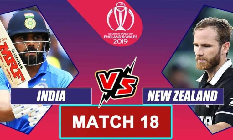 India vs New Zealand World Cup 2019 Match 18, Live Streaming, Preview, Teams, Results