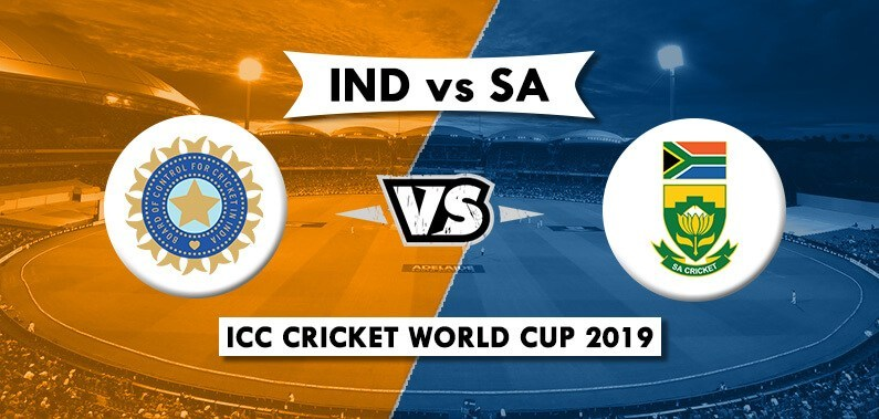 India vs South Africa World Cup 2019: Match 8 Live Streaming, Preview, Teams, Results & Where To Watch
