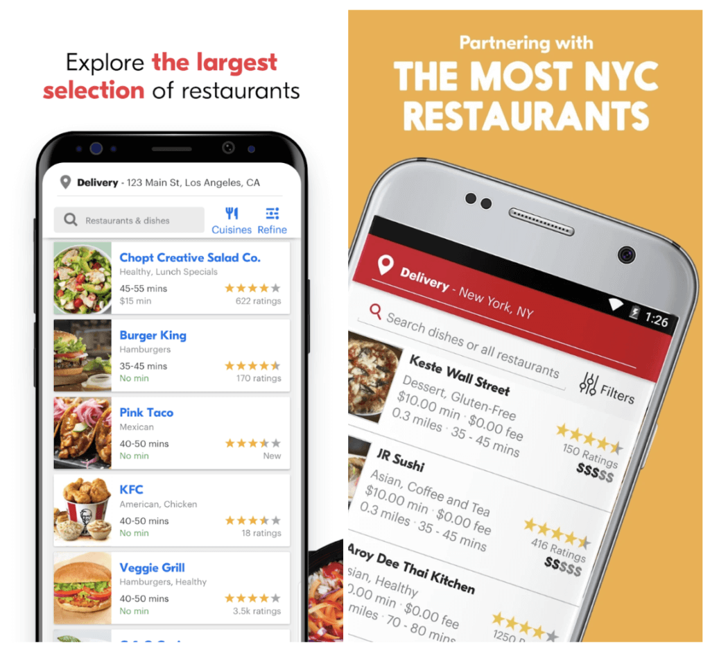 Seamless vs GrubHub: Which Is The Best Food Delivery App?