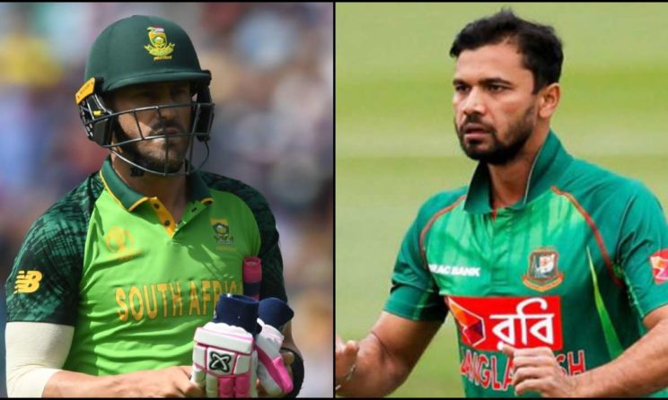 South Africa vs Bangladesh World Cup 2019: Match 5 Live Streaming, Preview, Teams, Results & Where To Watch