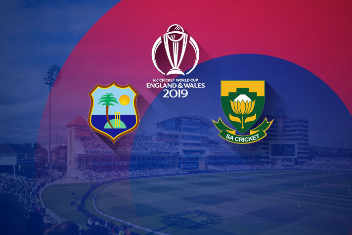South Africa vs West Indies World Cup 2019: Match 15, Live Streaming, Preview, Teams, Results