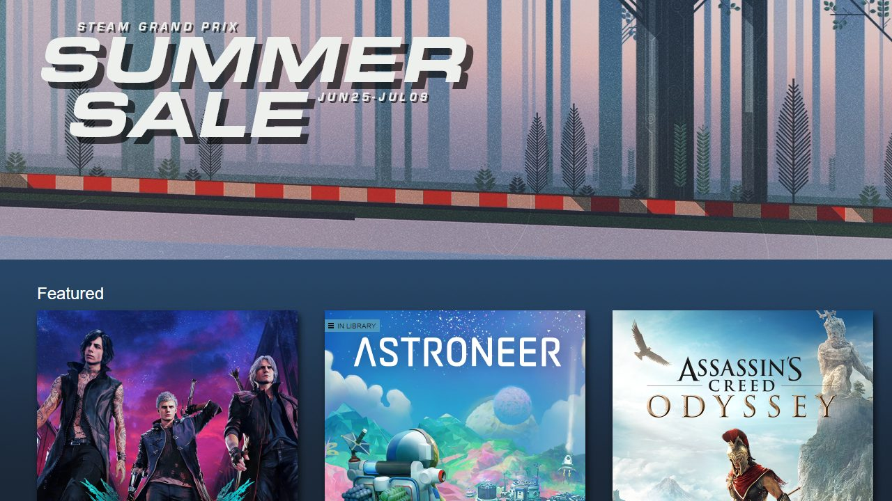Steam Summer Sale 2019 Kick Starts With New Ways To Get Earn Games