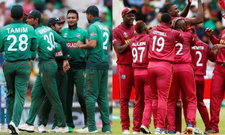 West Indies vs Bangladesh World Cup 2019 Match 23, Live Streaming, Preview, Teams, Results