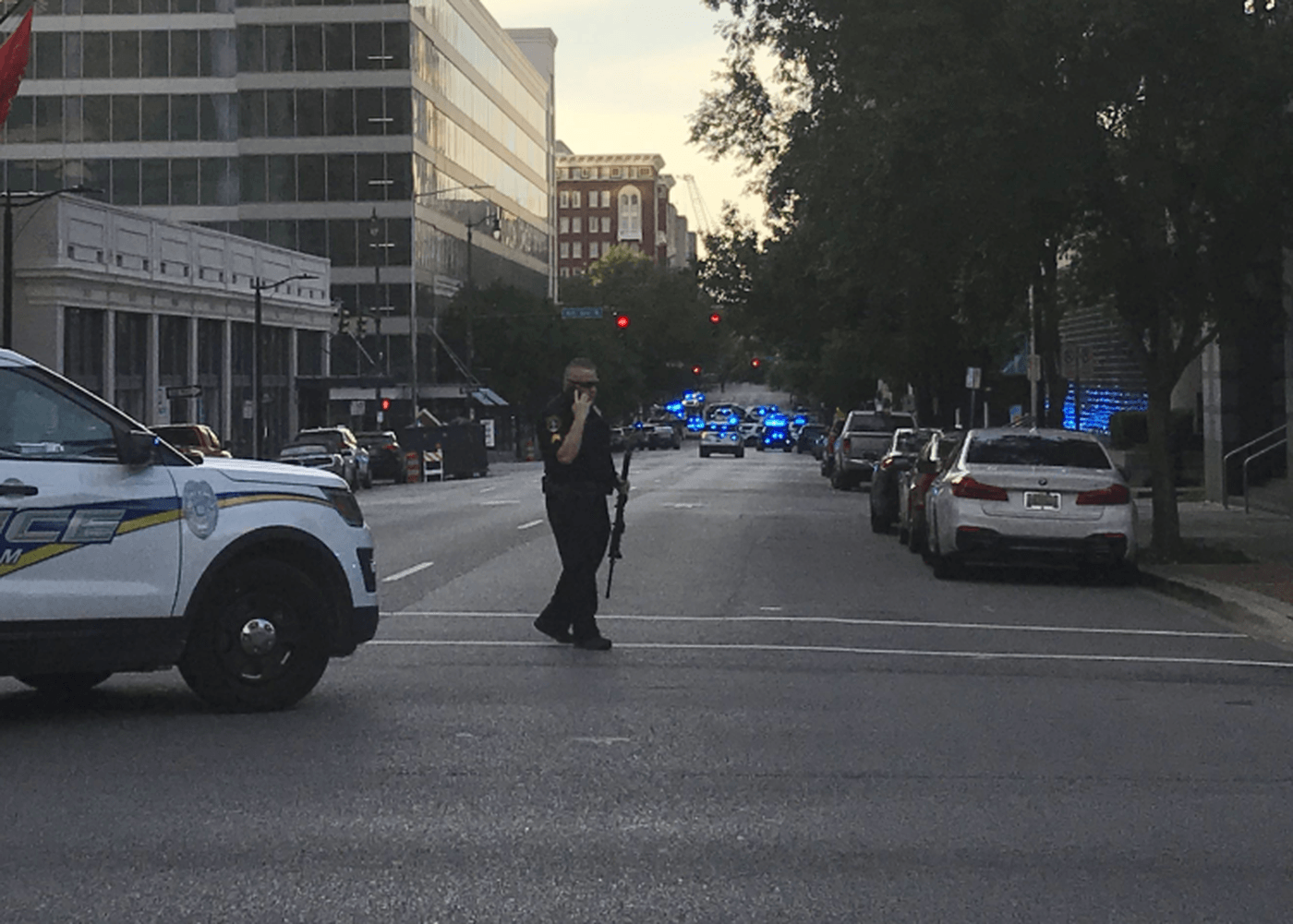 2 Birmingham Police Officers Injured, Robbery Suspect Died In Cross-Fire