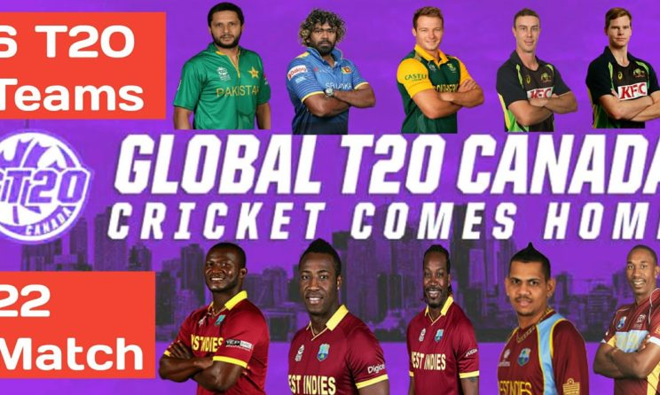 2019 Global T20 League Canada: Teams, Players, Squads, Broadcast Details & Schedule