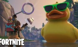 Fortnite Giant Rubber Duck Location: Where To Find The Umbrellas And Duck?