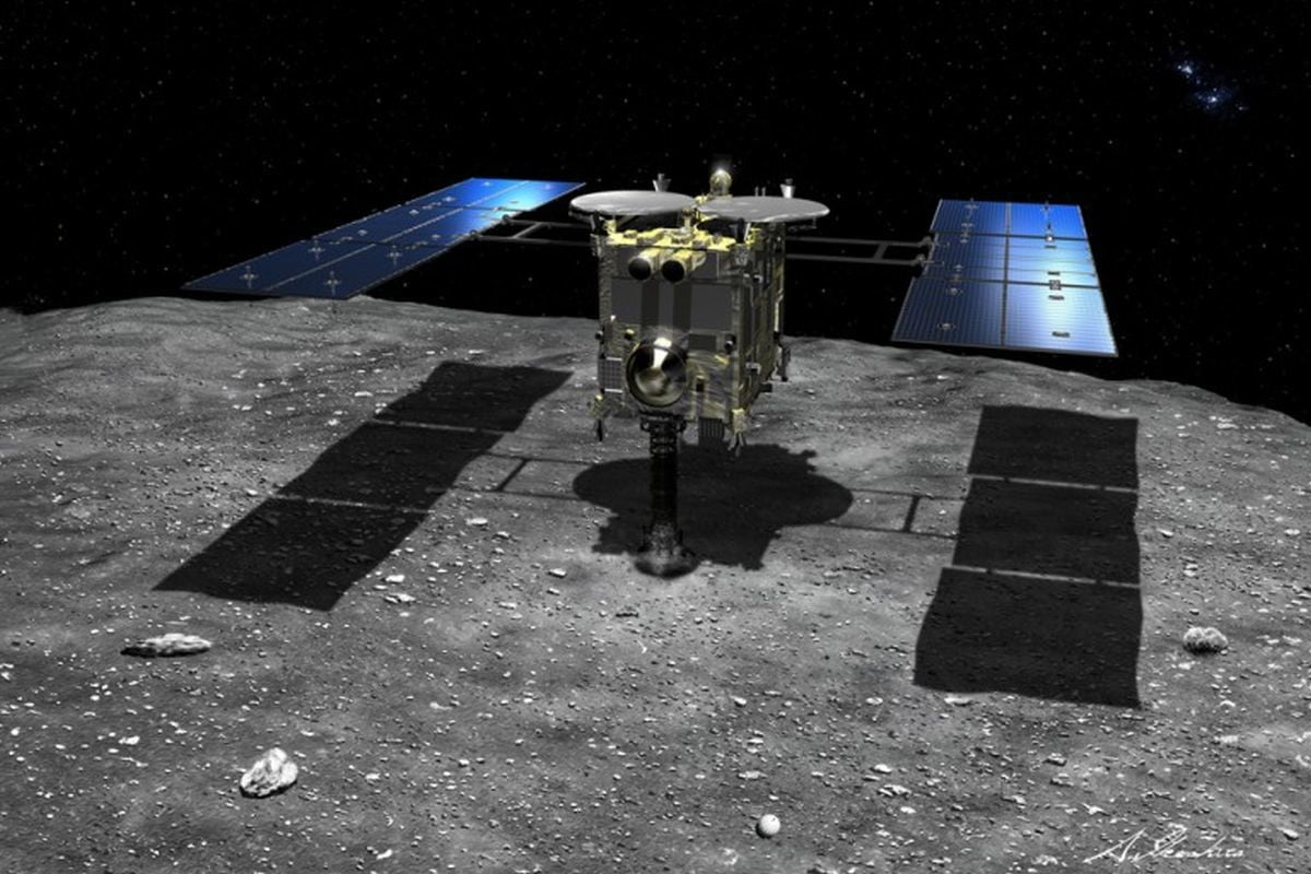 Japan's Hayabusa2 Spacecraft Has Just Completed A Successful Asteroid Landing